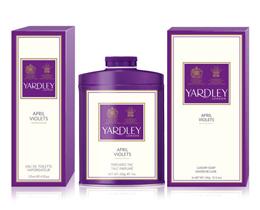 Yardley talc, soap & bodyspray